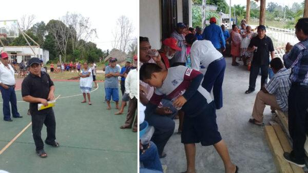 Preparan elección para comisario ejidal de la comunidad de Yoactún.