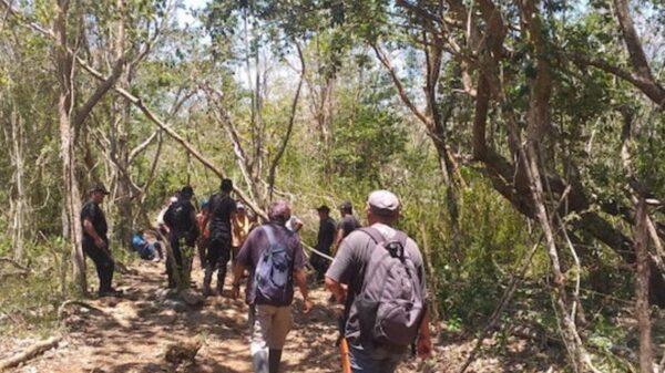 Policías se unen en la búsqueda de un abuelito extraviado en Tizimín