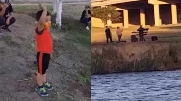"""Un abuelito se viraliza en redes sociales al aplicar la frase de que para """"el amor no hay fronteras"""", el hecho fue captado en video"""