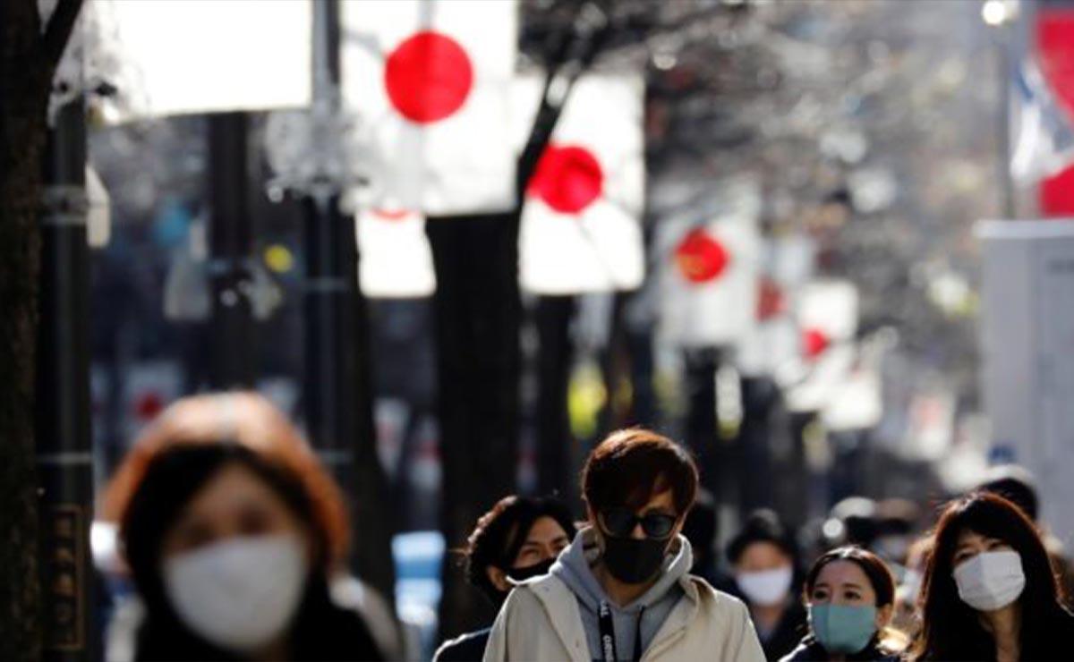 Japón detecta casos de mutación de Covid-19