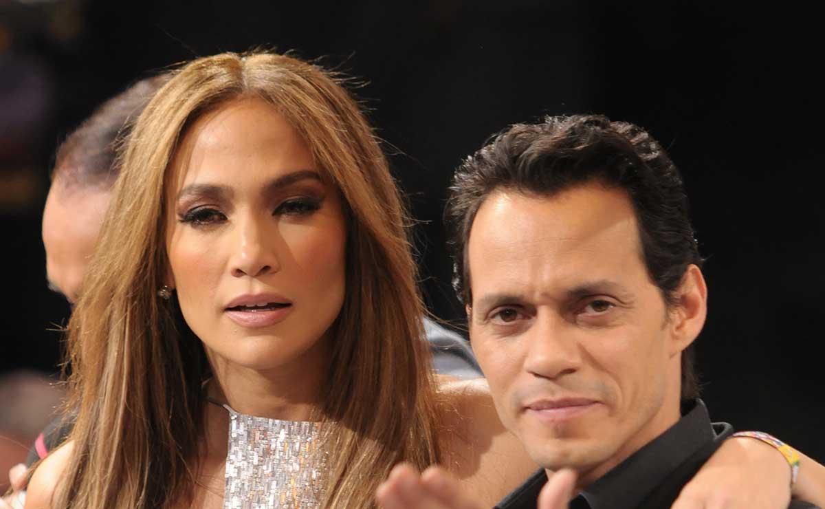 Jennifer Lopez se consuela en Marc Anthony tras romper con Alex Rodríguez