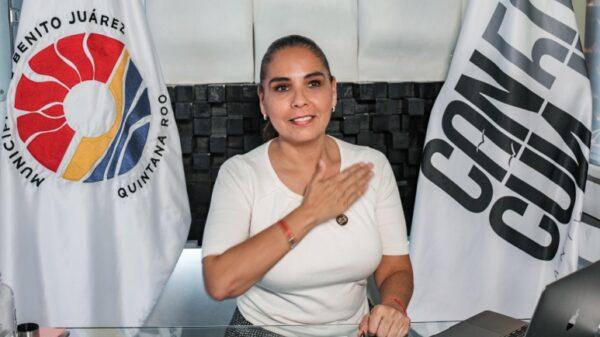 Reafirman en Morena la candidatura de Mara Lezama en Benito Juárez.