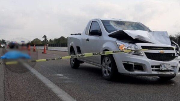 Muere atropellado motociclista en la vía Mérida-Campeche
