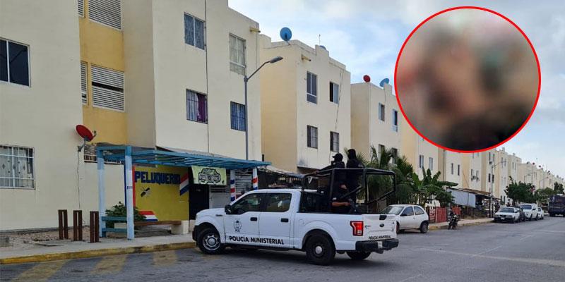 En Cancún asesinan a una mujer de un balazo en la cabeza.