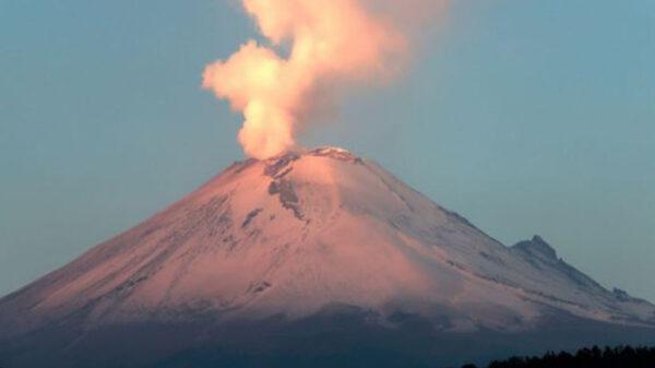 Registra el Popocatépetl 10 sismos volcanotectónicos