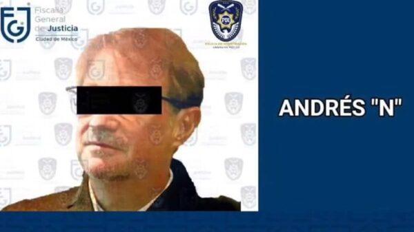 Piden a Interpol emisión de ficha roja en contra de Andrés Roemer.