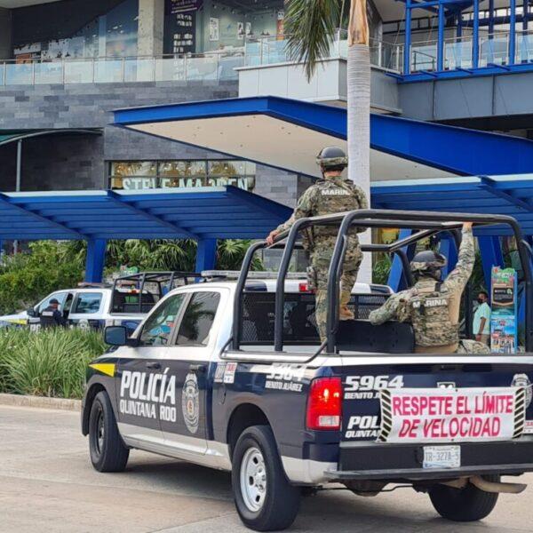 Se registra robo con violencia en Puerto Cancún