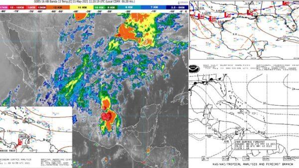 Pronóstico del clima para hoy martes 11 de mayo en Quintana Roo.
