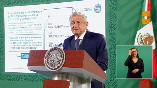 Envía México nota diplomática a EU por financiar a Claudio X