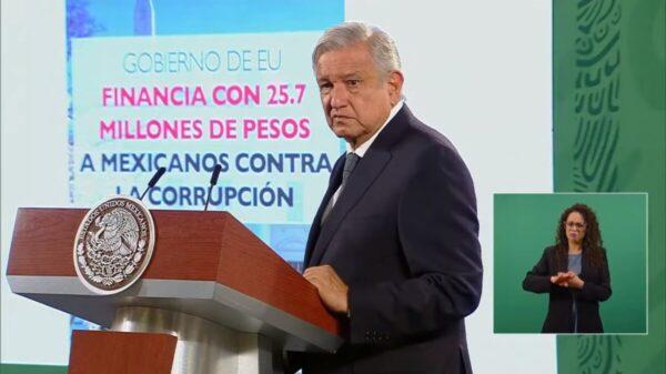 Enviará México nota diplomática a EU en caso de financiar a MCCI
