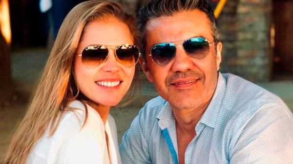 Adrián Uribe celebra su boda con Thuany Martins