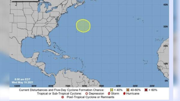 Lo que faltaba!, primera probable amenaza climatológica en el Atlántico