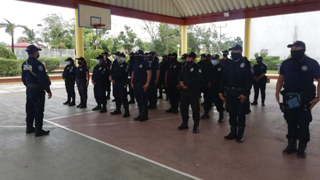 Aplican antidoping a policías de Lázaro Cárdenas