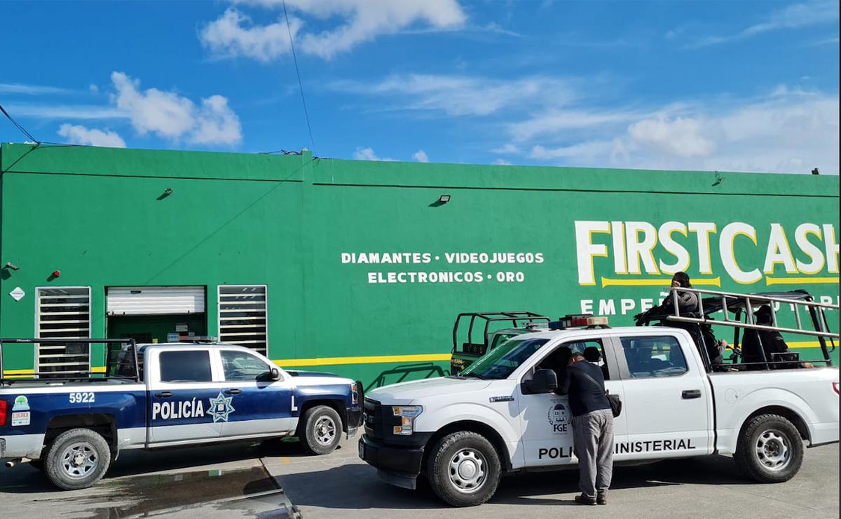 Violento asalto a sucursal de First Cash en la región 248