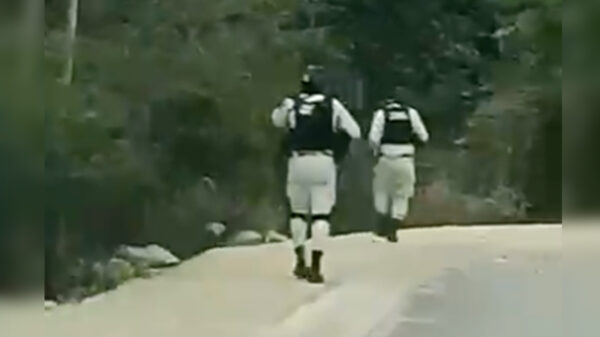 Video: Fuerte balacera se registra en Puerto Morelos