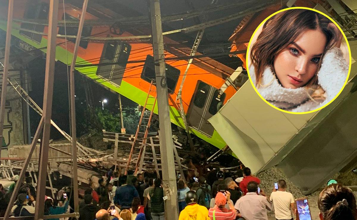 Belinda y Camila Sodi mandan su pésame a las víctimas de la Línea 12 del Metro