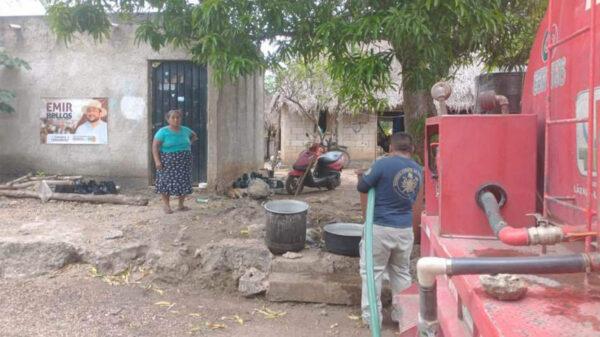 Atribuye CAPA a fallos de CFE falta de agua en La Esperanza