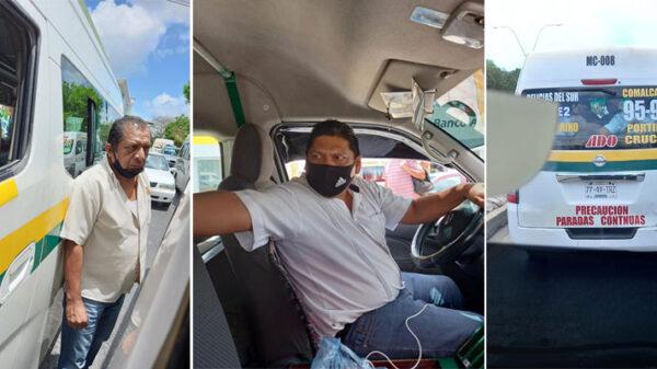 VIRAL: Conductores de Maya Caribe protagonizan pleito callejero en Cancún.