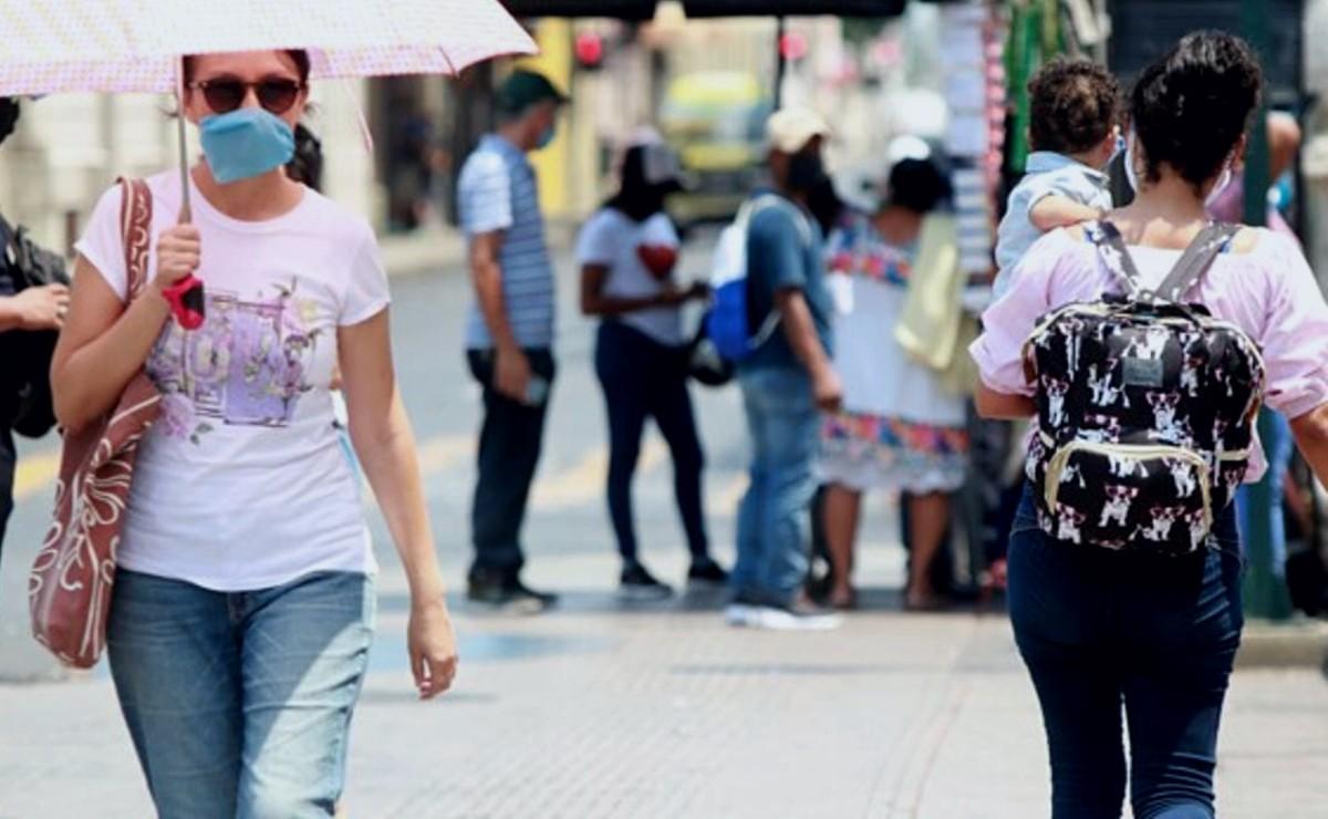 Clima Yucatán: Día caluroso con temperaturas de hasta 40 grados