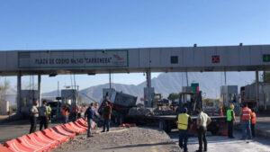Choca tráiler contra caseta en Coahuila