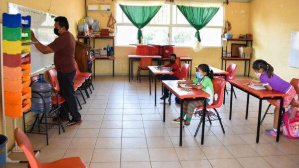 En Chiapas solo el 10% de los alumnos regresaron a clases presenciales