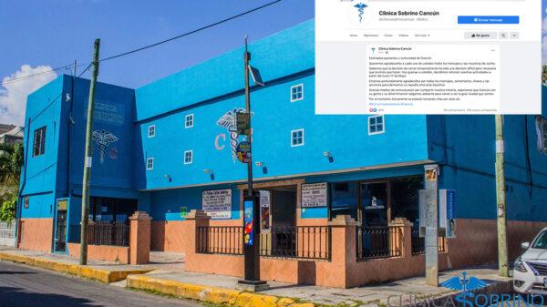 Reabrirá la icónica Clínica Sobrino en Cancún