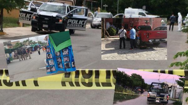 """Sicarios """"hacen puente"""" en Cancún, 3 días sin ataques"""