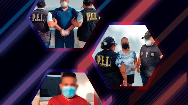 Por robo a mano armada, detienen a dos hombres y una mujer en Mérida