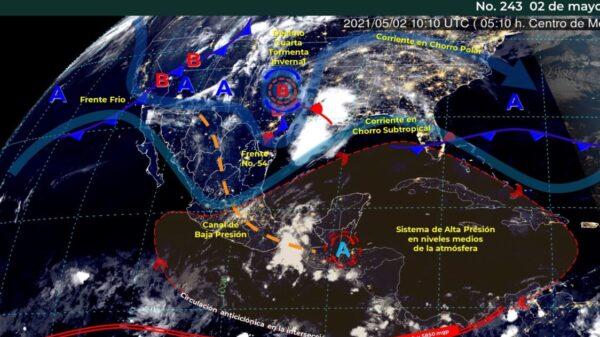 Pronóstico del clima para hoy domingo 2 de mayo en Quintana Roo.