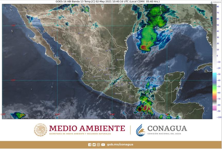 Pronóstico del clima para hoy domingo 2 de mayo en Quintana Roo; continuarán las altas temperaturas y sin probabilidad de lluvias.