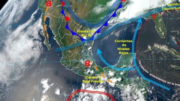 Pronóstico del clima para hoy miércoles 5 de mayo en Quintana Roo.