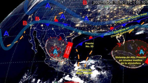 Pronóstico del clima para hoy jueves 6 de mayo en Quintana Roo.
