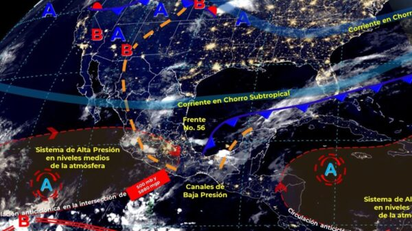 Pronóstico del clima para hoy viernes 14 de mayo en Quintana Roo.