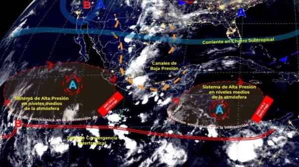 Pronóstico del clima para hoy domingo 16 de mayo en Quintana Roo.