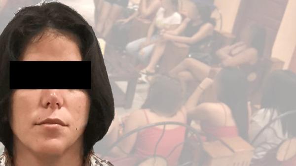 Vinculan a proceso a presunta explotadora sexual detenida en Cancún.