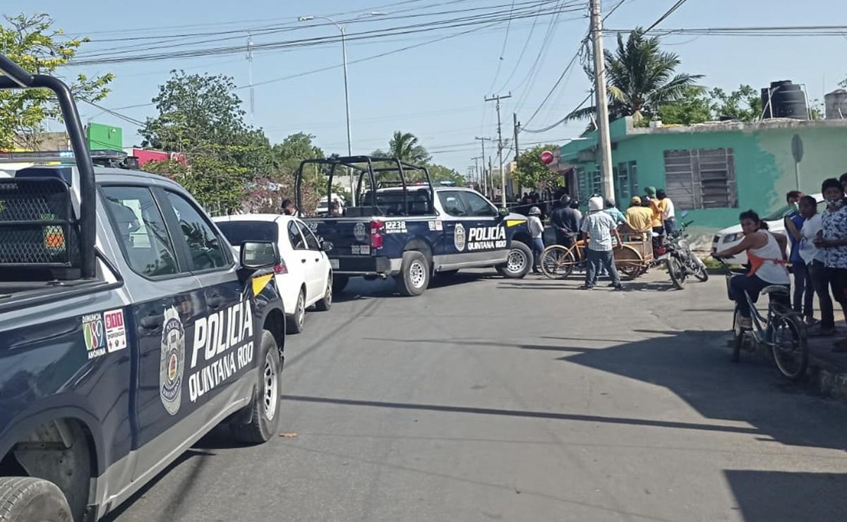 Tras persecución, ejecutan a balazos a un hombre en Chetumal