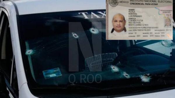 Atacan a balazos a taxista de Cancún en Kantunilkín