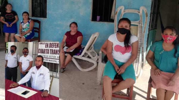 Denuncian mujeres de Santo Domingo a ex líder de Morena por fraude