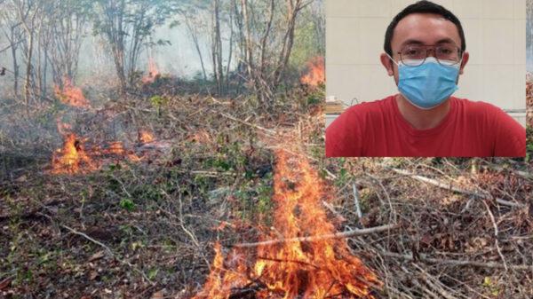 Aumentan quemas agricolas en Lazaro Cárdenas