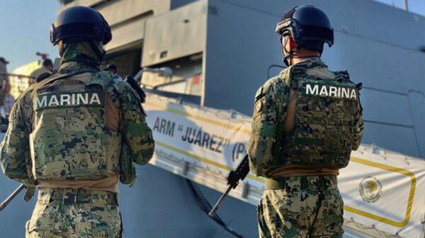 Detienen a 15 marinos vinculados con el narcotráfico