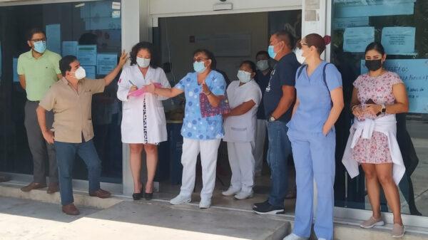 Suspende labores el personal del ISSSTE en Cozumel