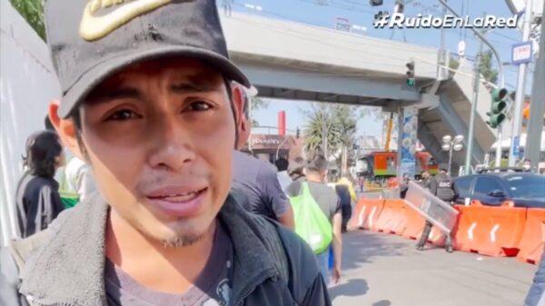 Miguel, en situación de calle, narra con elocuencia y pulcritud tragedia en L12