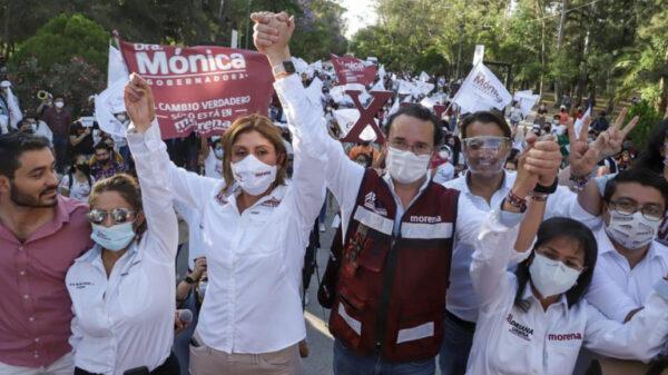 "INE ""perdona"" a candidata de Morena en San Luis Potosí"