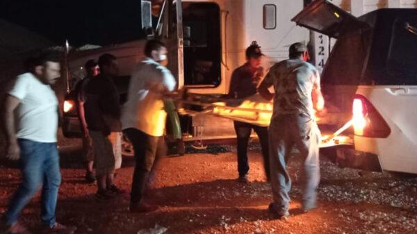 Muere chofer en sascabera de ICA en Ignacio Zaragoza