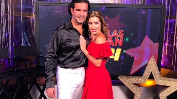 Pablo Montero y Andrea Escalona casi se besan durante el programo HOY