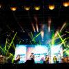 Pese al Covid-19, Grupo Intocable realiza concierto presencial en Monterrey