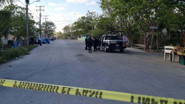 Cancún: Balean a mototaxista en Villas Otoch
