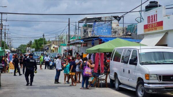 Ejecutan a una persona con un disparo en el cráneo, Cancún sumido en la violencia