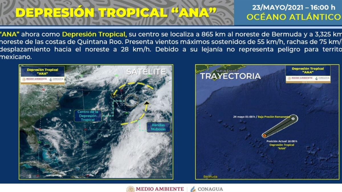 ¡Afortunadamente! 'Ana' se degradó a depresión tropical