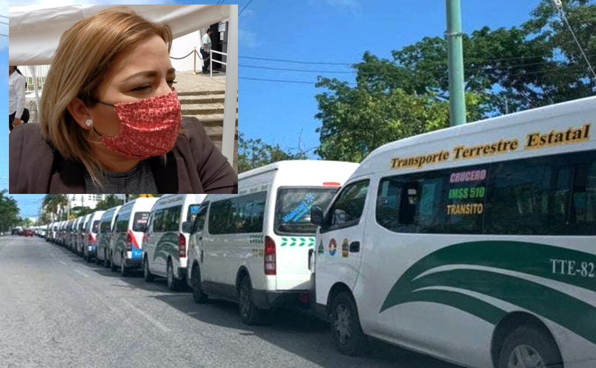 Se quedará Cancún sin transporte público: diputada